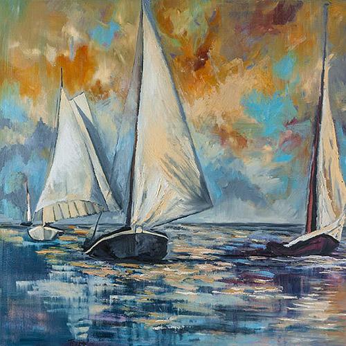 Segelboot 21